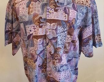 337 - Ono & Company Aloha Hawaiian shirt XXL 100% cotton