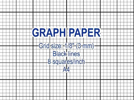inch grid paper printable