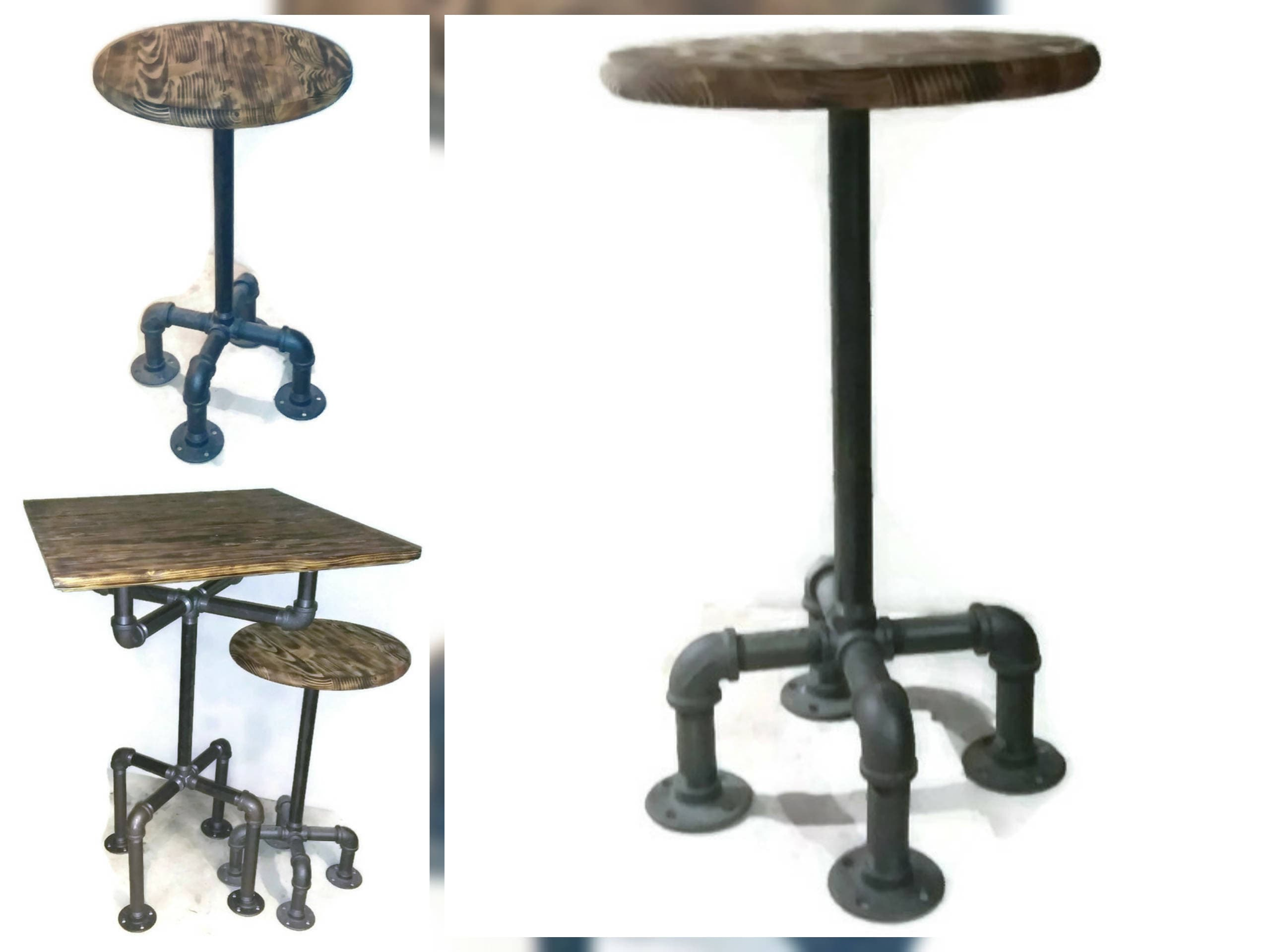 Remarkable Pipe Bar Stool Tx46 Advancedmassagebysara Creativecarmelina Interior Chair Design Creativecarmelinacom