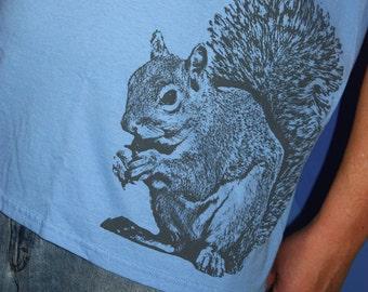 Super Squirrel TShirt, Woodland Animals Shirt, Unisex, Squirrel Tee