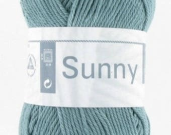 natural 100% cotton yarn knitting was SUNNY of horse white # 152 duck
