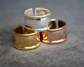 Adjustable Sterling Ring