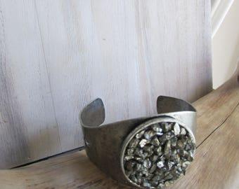 Burst of Pyrite bracelet