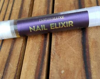 Natural Herbal Infused Nail Elixir Oil
