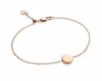 Little Luxe Disc Bracelet