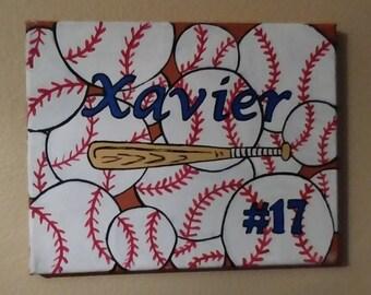 Custom Baseball Art!