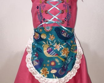 Bavarian Style Dirndl Kids FREE SHIPPING!! For the Birds