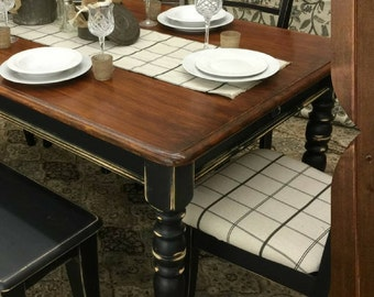 DARK WALNUT Stain Top ~ Rethunk Junk by Laura Paints