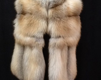 Golden island fox vest