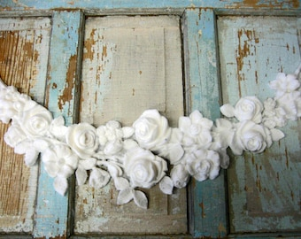 Shabby Chic  FURNITURE APPLIQUES Rose French Cottage Chic    5.95 no limit shipping in the USA