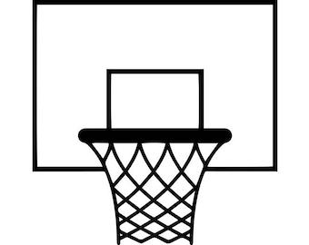 Basketball Net Logo Basketball hoop...