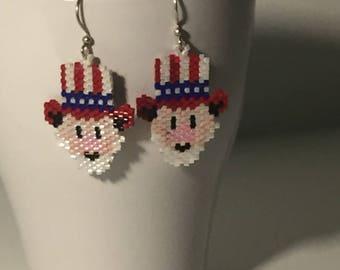 Uncle Sam Earrings