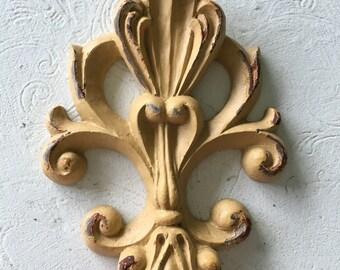 Moulage/shabby moulage chic antique art décoratif decore / italien moulage de pièce