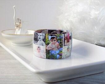 Photo Bracelet - Best Mother's Day Gift for Mom - Personalized Gift for Mom - Picture Bracelet - Photo Jewelry - Best Mom Gift - Aunt Gift