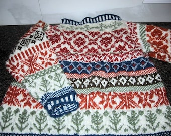 Tailor Made Fair Isle Sweater