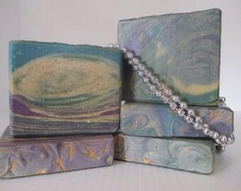 Mardi Gras soap,mardi gras gift,handmade soap,rosemary soap,colorful soap,hostess gift,homemade soap,handmade soaps,homemade soaps