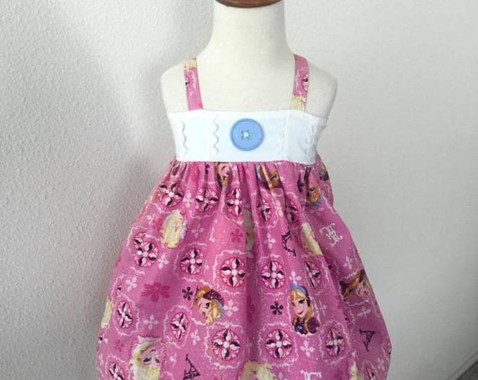 Frozen Anna Elsa Sparkle Hattie Dress