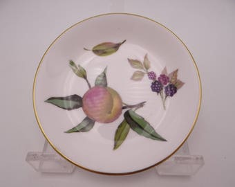 Vintage Royal Worcester Arden Fruit and Berries Butter Pat