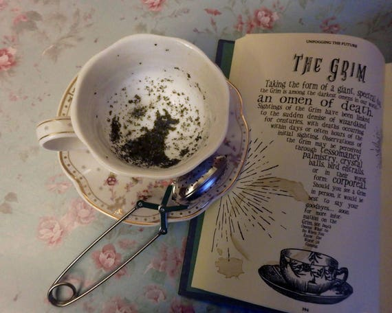 La Tasse De The Sombre Harry Potter Poudlard Divination Vrai