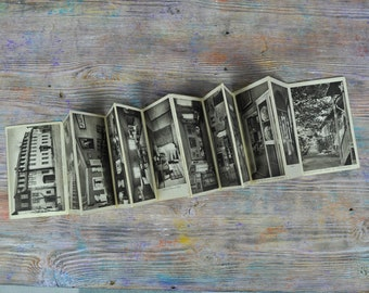 "Vintage 1930's German Souvenir  Postcards ""Goethe National museum""  Set of 12."