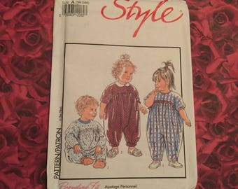 1990's Vintage Style Sewing Pattern