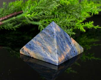 Blue Sodalite Pyramid Shaped
