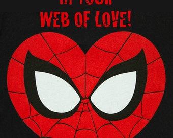Spiderman Valentine's Cards