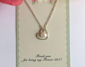 Flower Girl Necklace.