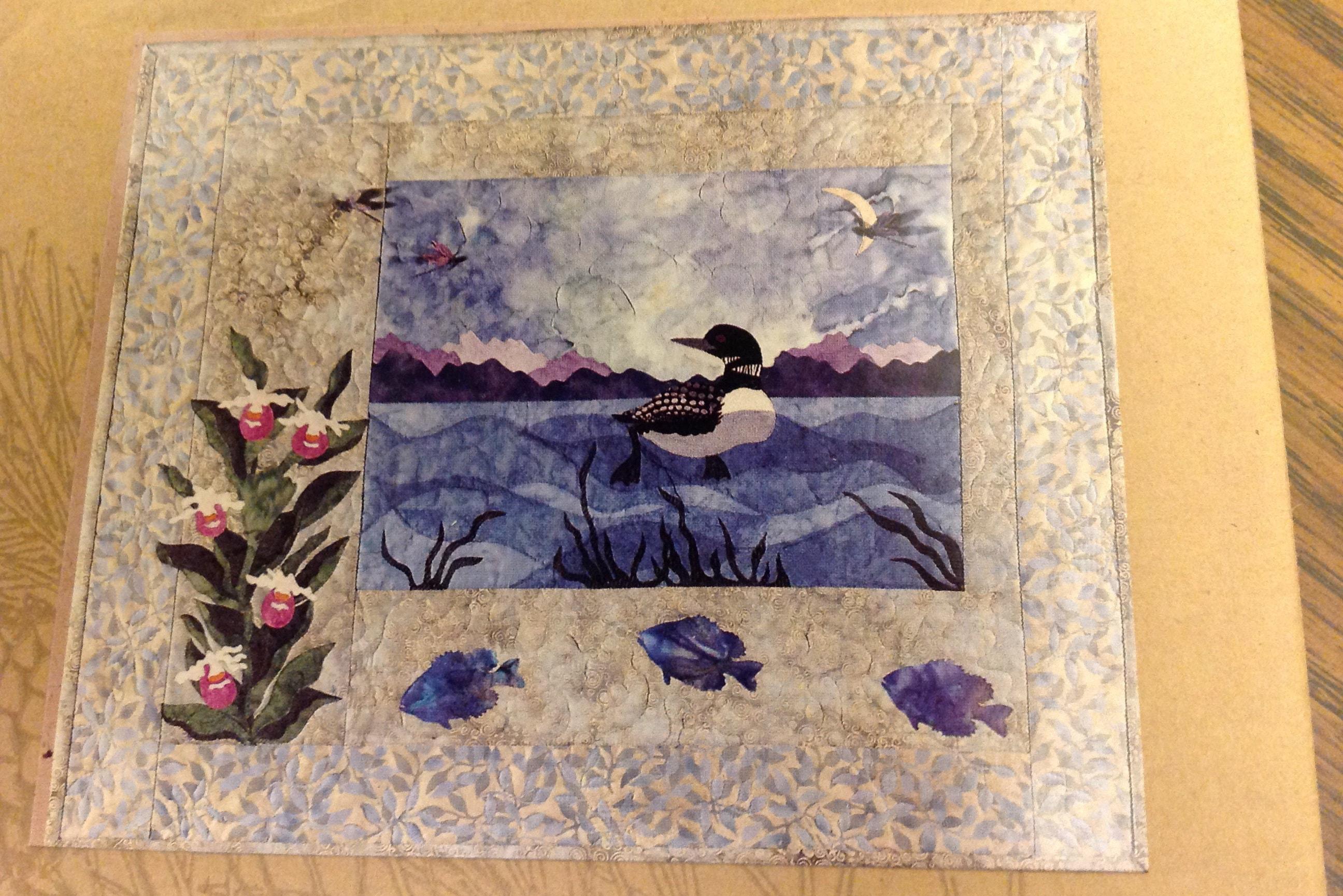 McKenna Ryan Loon and Ladies quilt pattern Pine : loon quilt pattern - Adamdwight.com