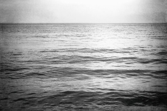 Black and white ocean photography sea water seascape print