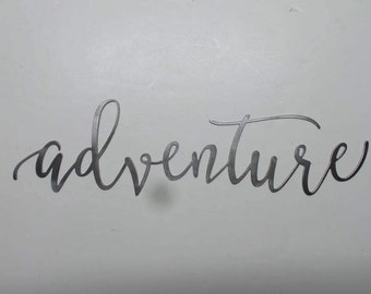 Adventure - Metal Sign  A24