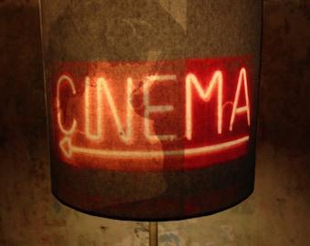 Risqué Burlesque Boudoir inspired lamp shade 'CINEMAMA'