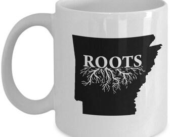 Home Roots State Arkansas Coffee Mug, Tea Cup