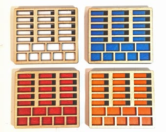 Settlers Of Catan, Catan board game, Catan piece holders, Catan holders, Catan upgrade, Catan piece organizer, piece organizer