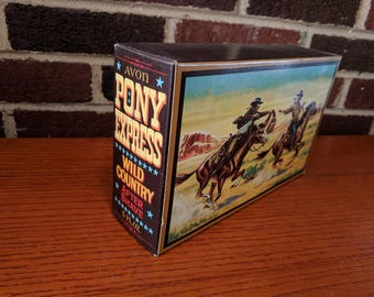 Avon Pony Express Wild Country Aftershave *Original Box!* *Never Opened!* 1970s