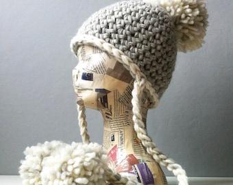 Beanie Crochet, Crochet Hat, Beanie Hat, Beanie Hat Women, Beanie Baby , Beanie Baby Hat, Beanie Women, Pom Pom, blumargot, Chunky Beanie