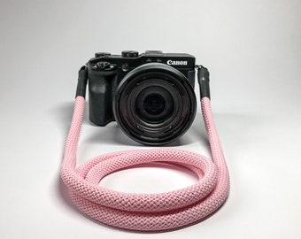 Camera Strap for DSLR rose-Camerastrap-rope-camera Band-10 mm-Universal shoulder strap-carrying strap-Sony Olympus-Seilstyles