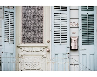 New Orleans French Quarter Photography Rustic Decor Door Photography NOLa Art Architecture Photography