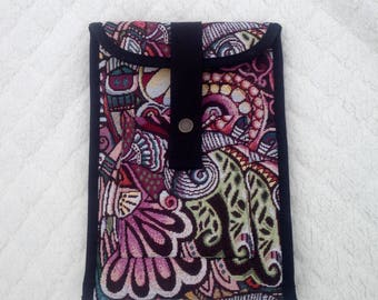 Ipad case, Ipad cover, Ipad purse, floverpower little bag