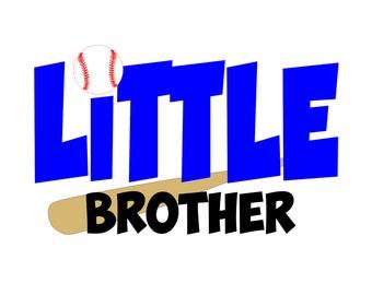 little brother svg - baseball svg - baseball svg files - svg file - svg files - baseball cut file - baseball brother - baseball files