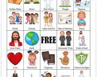 LDS General Conference BINGO Cards (Updated with President Nelson as Prophet!)