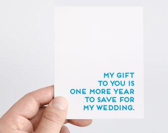 Fathers Day Card Wedding | Funny Fathers Day Gift | Gift For Him | Save For Wedding | Parents Wedding Card | Fathers Day Card From Daughter