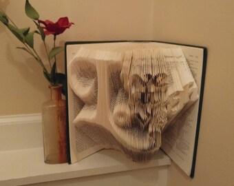 Live Laugh Live Folded Book