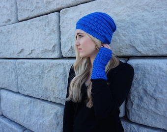 The Charity Slouchy and Wrist Warmers