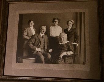 Antique Photo in Original Frame!