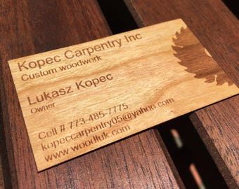 Business cards wood business cards laser engraved wood wood business cards with bleed engravingbusiness cards with reverse engravingengraved wood business cardspersonalized wood business cards colourmoves