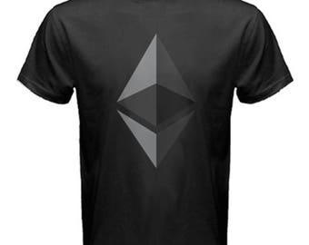 Ethereum Crypto coin  fashion new aesthetic of future t-shirt exclusive design   cotton men and women created by artist