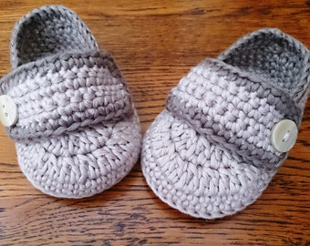 Baby Loafers Baby Booties Crocheted in All Colours