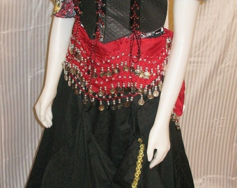 Renaissance Gypsy Artist Costume Made to YOUR Measurements