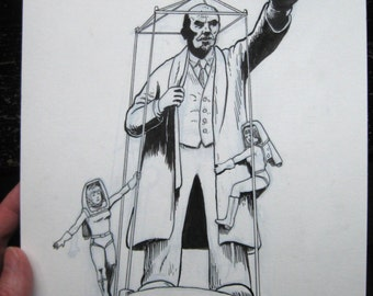 Lenin in Space Illustration for Couverture